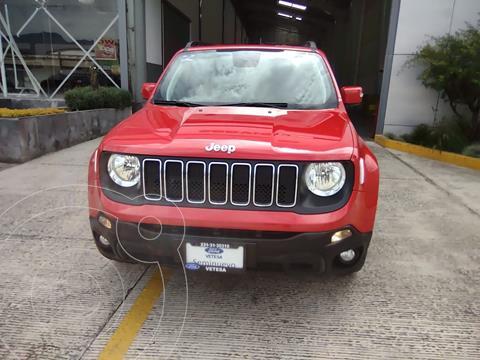 Jeep Renegade 4x2 Latitude Aut usado (2019) color Rojo precio $369,000