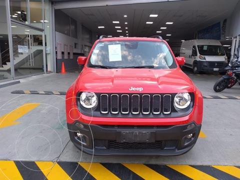 Jeep Renegade 4x2 Latitude Aut usado (2018) color Rojo precio $328,000