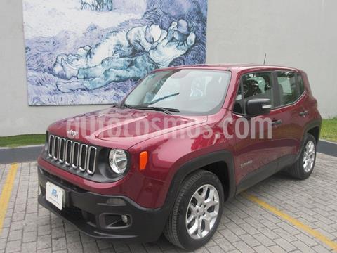 Jeep Renegade 4x2 Sport Aut usado (2018) color Rojo precio $283,000