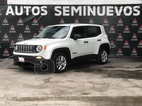 Jeep Renegade 4x2 Sport Aut usado (2018) color Blanco Alpine precio $309,000