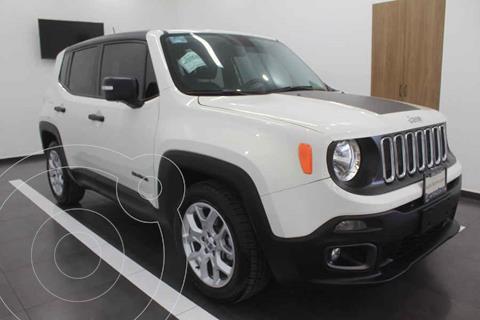 Jeep Renegade 4x2 Sport Aut usado (2018) color Blanco precio $299,000