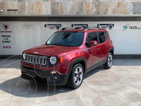 Jeep Renegade Latitude  usado (2017) color Rojo precio $295,000