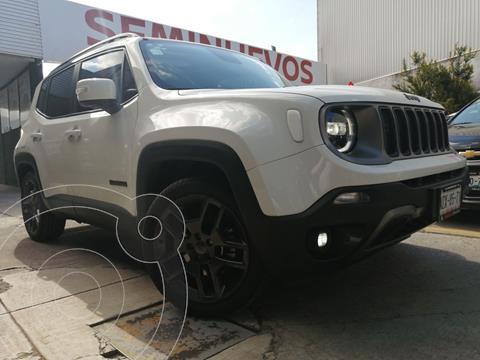 Jeep Renegade Limited  usado (2021) color Blanco Alpine precio $439,800