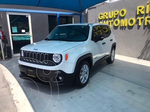 Jeep Renegade Sport  usado (2017) color Blanco precio $289,000