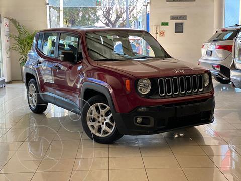 Jeep Renegade Sport  usado (2017) color Rojo precio $255,000