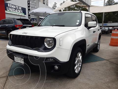 Jeep Renegade 4x2 Sport Aut usado (2019) color Blanco financiado en mensualidades(enganche $76,765 mensualidades desde $7,228)