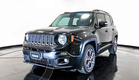 Jeep Renegade 4x2 Latitude Aut usado (2017) color Negro precio $307,999