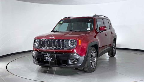 Jeep Renegade 4x2 Latitude Aut usado (2018) color Rojo precio $357,999