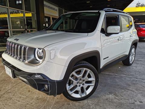 Jeep Renegade Limited  usado (2020) color Blanco Alpine precio $415,000