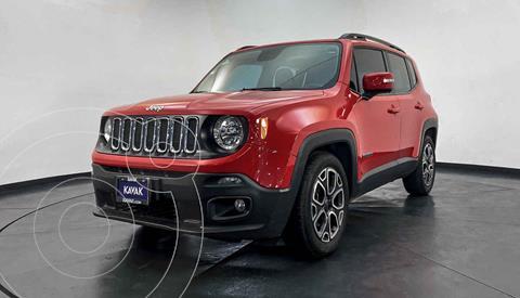 Jeep Renegade 4x2 Latitude Aut usado (2018) color Rojo precio $337,999