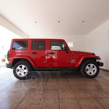 Jeep Wrangler Unlimited Unlimited Sahara 4x4 3.6L Aut usado (2012) color Rojo precio $445,000