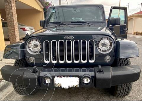 Jeep Wrangler Unlimited Unlimited JK Sahara 4x4 3.6L Aut usado (2018) color Azul precio $718,000