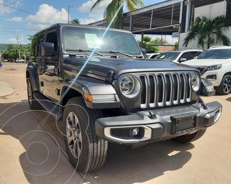 Jeep Wrangler Unlimited Unlimited Sahara 4x4 3.6L Aut usado (2019) color Gris precio $875,000