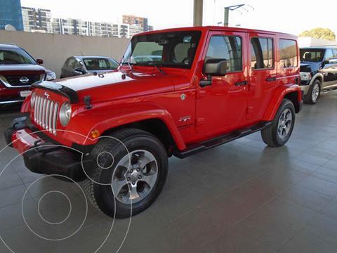 Jeep Wrangler Unlimited Unlimited Sahara 4x4 3.6L Aut usado (2017) color Rojo precio $659,000