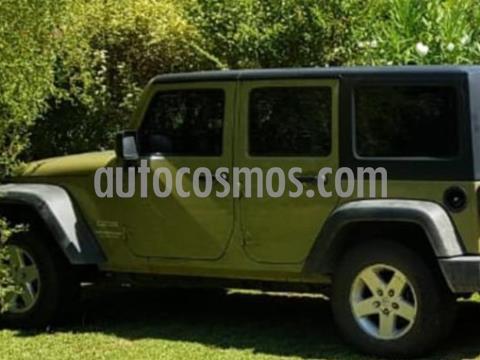 Jeep Wrangler Unlimited Aut usado (2013) color Verde precio u$s33.000