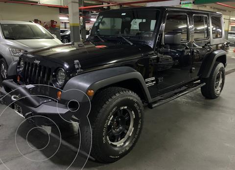 Jeep Wrangler Sport Unlimited usado (2008) color Negro precio u$s31.000