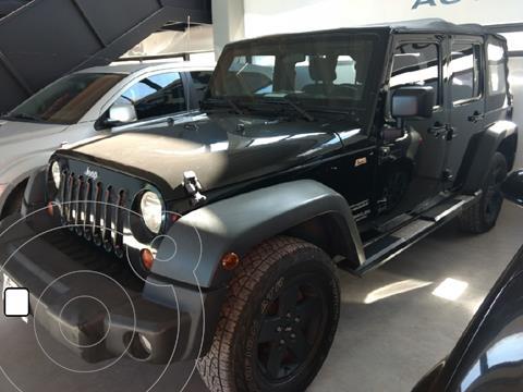Jeep Wrangler Unlimited usado (2012) color Gris Claro precio $5.700.000
