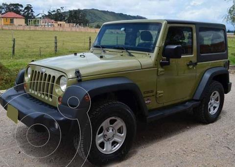 Jeep Wrangler Sport 3.6L 2P usado (2013) color Verde precio $15.000.000