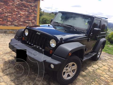 Jeep Wrangler 3.8L Sport usado (2010) color Negro precio $70.000.000