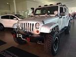 Foto venta Auto Seminuevo Jeep Wrangler JK Sahara 4x4 3.6L Aut (2007) color Plata Martillado precio $350,000