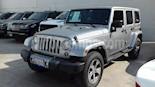 Jeep Wrangler Sahara 4x4 3.6L Aut usado (2018) color Gris precio $618,000