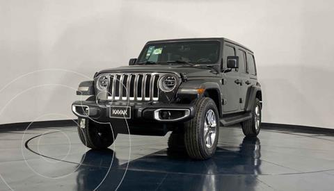 Jeep Wrangler Unlimited JK Sahara 4x4 3.6L Aut usado (2018) color Gris precio $909,999