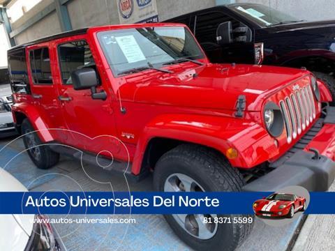 Jeep Wrangler Sahara 4x4 3.6L Aut usado (2018) color Rojo precio $745,000