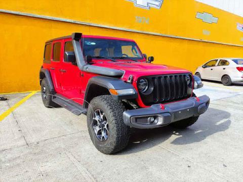 Jeep Wrangler Unlimited JK Rubicon 4x4 3.6L Aut usado (2019) color Rojo precio $905,000
