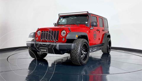 Jeep Wrangler Unlimited Rubicon 4x4 3.6L Aut usado (2017) color Rojo precio $794,999