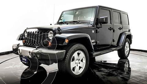 Jeep Wrangler Unlimited Sahara 4x4 3.8L Aut usado (2011) color Negro precio $404,999