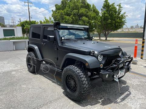 Jeep Wrangler Sport MTX 4x4 3.6L  usado (2014) color Negro precio $610,000
