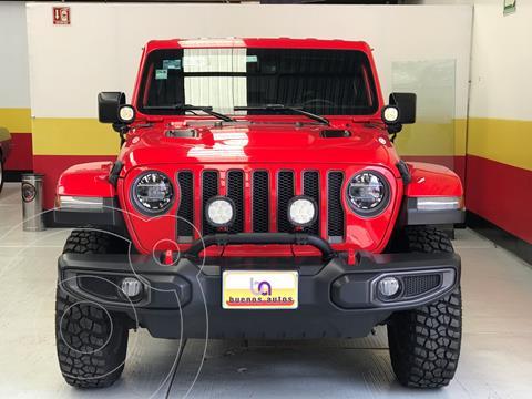 Jeep Wrangler Rubicon 4x4 3.6L Aut usado (2018) color Rojo Flama precio $839,900