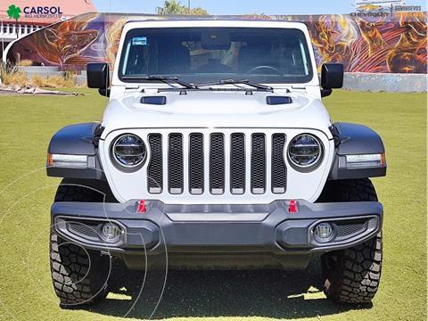 Jeep Wrangler Rubicon 4x4 3.6L Aut usado (2020) color Blanco precio $1,049,000