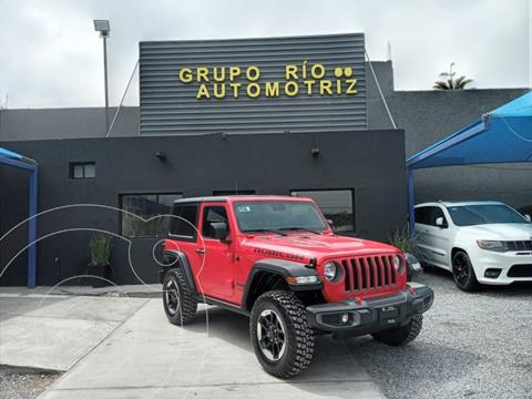 Jeep Wrangler JK Rubicon 4x4 3.6L Aut usado (2019) color Rojo precio $829,000
