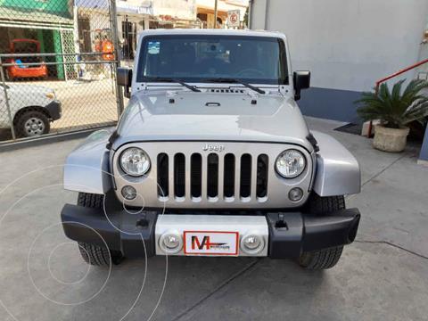 Jeep Wrangler Unlimited JK Sahara 4x4 3.6L Aut usado (2015) color Plata precio $549,000