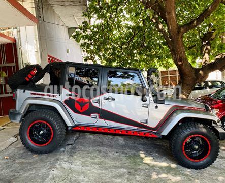 Jeep Wrangler Unlimited Unlimited Sahara 4x4 3.6L Aut  usado (2013) color Plata precio $516,000