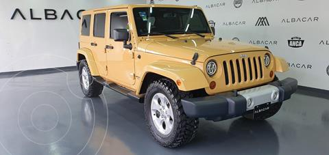 Jeep Wrangler Sahara 4x4 3.6L Aut  usado (2013) color Beige precio $519,900