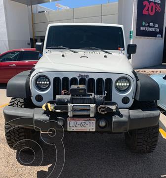 Jeep Wrangler Rubicon 4x4 3.8L Aut usado (2008) color Blanco precio $385,000