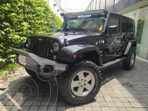 foto Jeep Wrangler Sahara 4x4 3.6L Aut usado (2011) color Negro precio $470,000