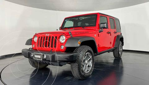 Jeep Wrangler Unlimited Rubicon 4x4 3.6L Aut usado (2017) color Rojo precio $772,999
