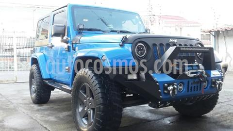 Jeep Wrangler Rubicon 4x4 3.6L Aut usado (2012) color Azul precio $380,000
