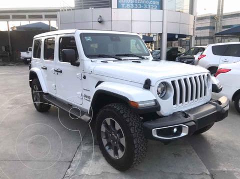 Jeep Wrangler Unlimited Sky Freedom Mild-Hybrid Aut usado (2020) color Blanco precio $959,900