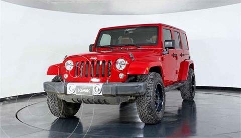 Jeep Wrangler Unlimited Sahara 4x4 3.6L Aut usado (2014) color Cafe precio $537,999