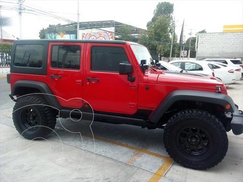 Jeep Wrangler UNLIMITED JK RUBICON 4X4 3.6L AUT usado (2018) color Rojo precio $699,000
