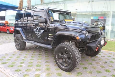 Jeep Wrangler UNLIMITED SAHARA V6/3.6 AUT usado (2016) color Negro precio $630,000