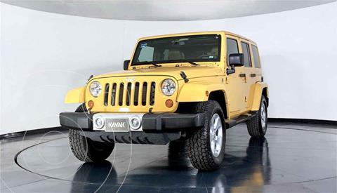 Jeep Wrangler Unlimited Sahara 4x4 3.8L Aut usado (2013) color Cafe precio $519,999