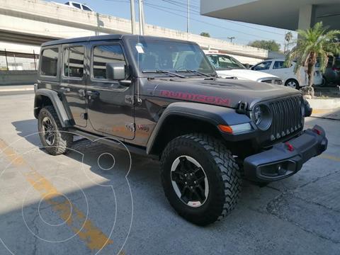 Jeep Wrangler Rubicon 4x4 3.6L Aut usado (2020) color Granito precio $950,000