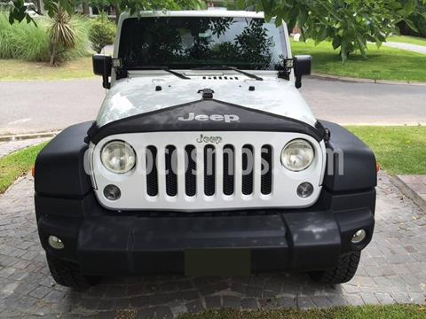 Jeep Wrangler Unlimited Unlimited Rubicon 4x4 3.6L Aut  usado (2013) color Blanco precio $342,000