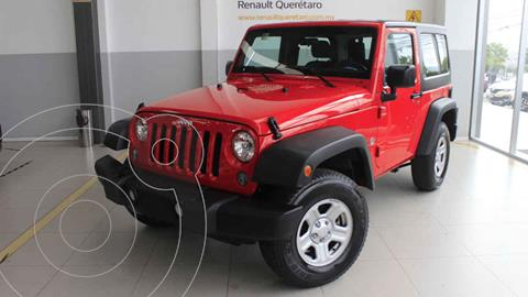 Jeep Wrangler Sport MTX 4x4 3.6L usado (2018) color Rojo precio $575,000