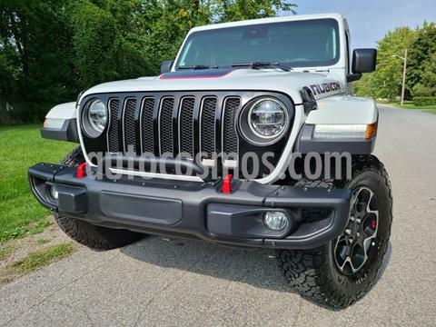 Jeep Wrangler Unlimited Unlimited JK Rubicon 4x4 3.6L Aut usado (2020) color Blanco precio $800,000